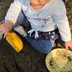 保育参観 ✄ 砂場遊び