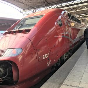 タリスに乗ってブリュッセルからパリへ週末旅行