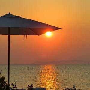 アテネの美しい夕陽とディナーをフォーシーズンズ アスティアパレス ホテル アテネで