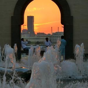 ドーハのサンセットスポット!イスラム美術館