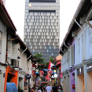 シンガポール、パンパシフィックのサービスアパートメント