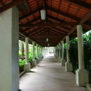 シンガポールのシャングリラ ホテル内にあるダッチ パビリオン
