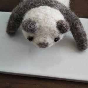 羊毛パンダ 受注生産