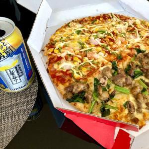 116日目 56.7キロ 昼からピザ&1人酒