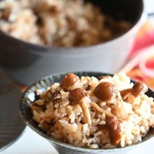 【ふっくらちゅるんっ♪】なめこの炊き込みご飯💛 #簡単 #炊くだけ!