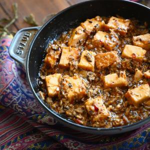 肉なし!麻婆豆腐💛しいたけと厚揚げ #簡単 #ヘルシー