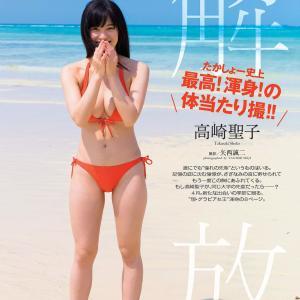 解 たかしょー史上 最高! 渾身の 体当たり撮!! 高崎聖子 グラビア水着画像「89枚」