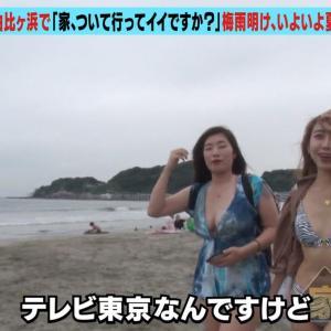 ワケあり美女SP!3連発 27歳!双子の美人姉妹水着画像 家、ついて行ってイイですか?」テレビ東京