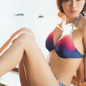 釈由美子 34歳水着で再び「12枚」2014年