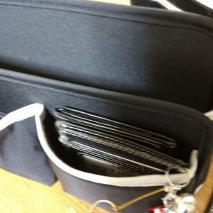小型で使い勝手が良いバッグインバッグを買ってみた