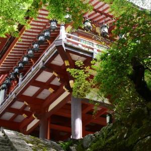 談山神社の懸造