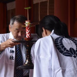 嘉吉祭と古代米
