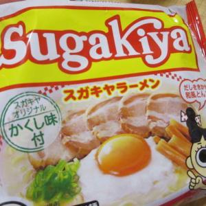 即席SUGAKIYAラーメン食べてみました♪