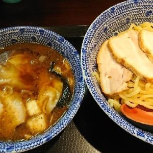 北浦和 金魚 ワンタンつけ麺 中盛り