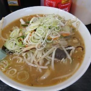 新橋 風鈴屋 野菜ラーメン味噌