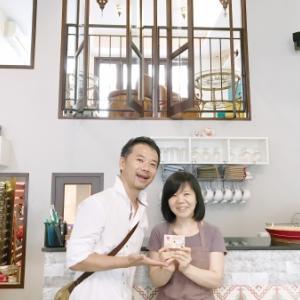 【名刺デザイン】バンコクの紅茶専門店 Serendib Tea Roomさま