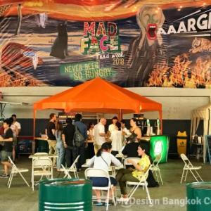 バンコクの野外グルメイベント『MAD FACE Food Week 2018』にデザイナーさんが行ってみた♪