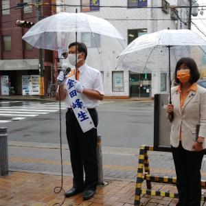 2021/07/08【兵庫県】尼崎で、金田峰生さん演説