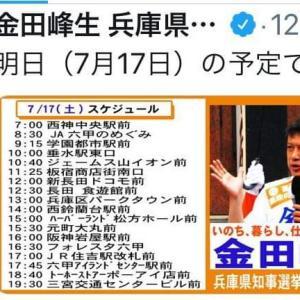 【兵庫県知事選】金田さんがええねん! (*ˊᵕˋ*)੭ ੈ❤︎