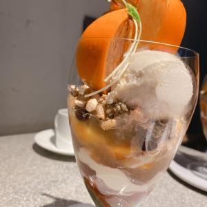 パルフェ ジャポネ 〜柿と焙じ茶とともに〜