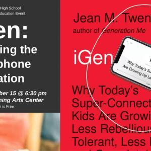 セミナー案内:iGen世代の子どもたち