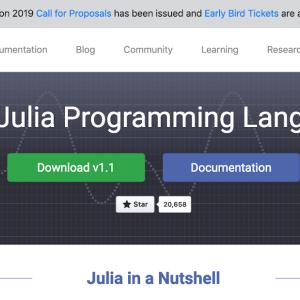 プログラミング言語Julia