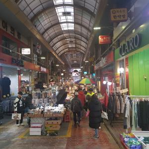 韓国の市場♡