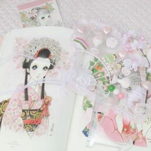 和室デ ロマンデ ホワイトピンク☆彡