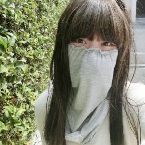大人可愛いネック&フェイスカバーを日曜日発売☆彡