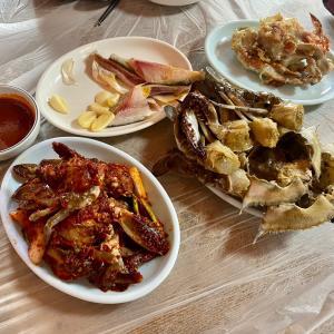仁川・沿岸埠頭で味もコスパも素晴らしいワタリガニ定食