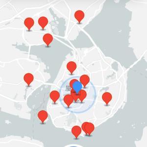 2020年2月17日中国福建省厦門市の状況。厦門で消毒薬散布車出動。