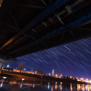 星景サルベージその83 橋の上のオリオン