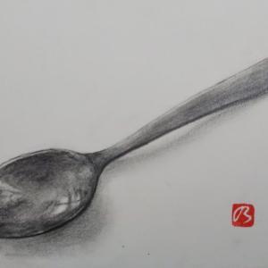 スプーンを描く