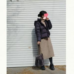 今日のコーデ★cocaニットワンピースと昨日のお出かけ!