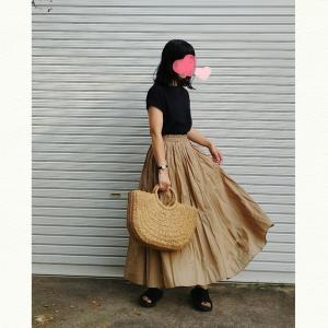 今日のコーデ☆またまた!cocaのスカートがよくて!
