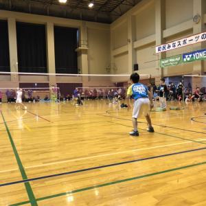 愛川オープン小学生バドミントン大会