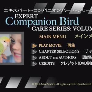 鳥の基本的知識確認に役立つ おススメ【DVD】 エキスパート・コンパニオンバード