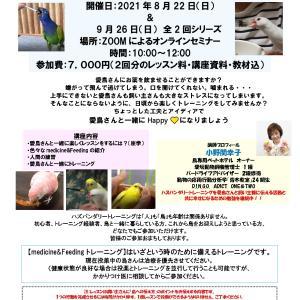 曽我玲子先生の栄養学講座・実践クラス・メディカルトレーニング【オンライン】開催します