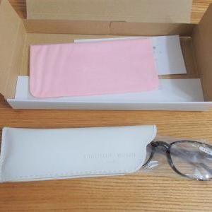 届いたもの☆PC眼鏡☆小さめマスクをポチ