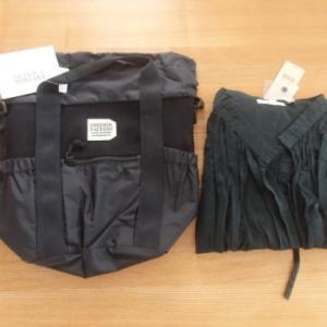 ポチった物と届いた物☆fredrik packers 2WAY巾着バッグレポ