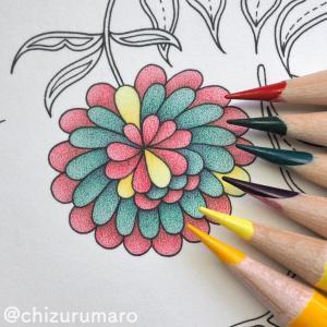 リベンジ塗り⑧ すべてのお花の塗りなおしが終わりました