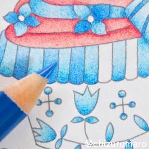 【ご質問】色鉛筆の重ね塗りは何回くらいしていますか?