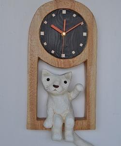 時計ネコ・・・
