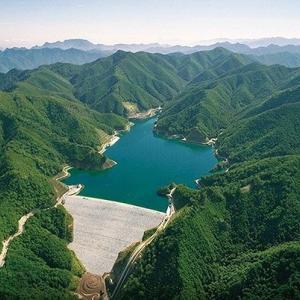 日本一標高の高い 南相木ダム