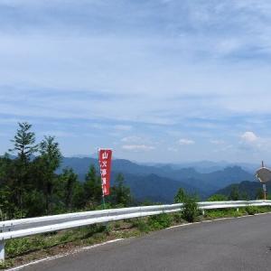 ADV150 御荷鉾スーパー林道を走る