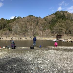 GWだし平谷村で渓流魚と戯れよう!