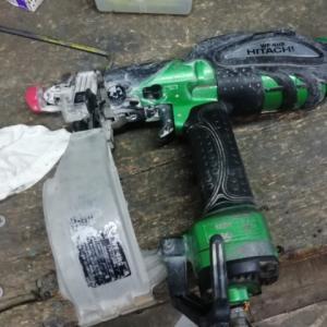 ビス打機、たまにある部品破損