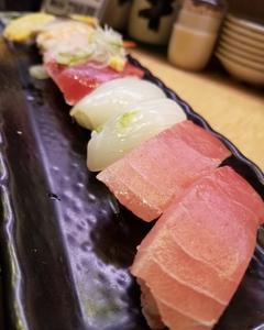 池袋回転寿司大漁!!