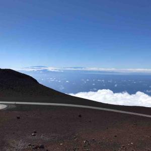 ひとりハワイ(3)ハレアカラ山頂にて