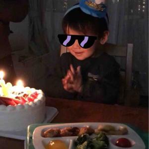 Mくんのお誕生パーティー